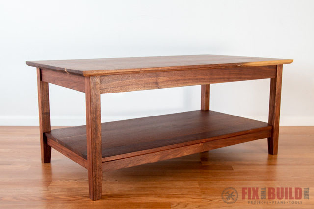 DIY Modern Farmhouse Coffee Table