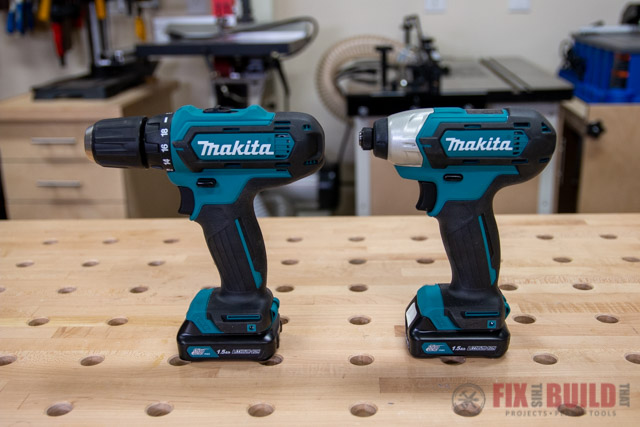 Makita 12-Volt MAX CXT Lithium-Ion Cordless 3/8 in. Drill and Impact Driver Combo Kit