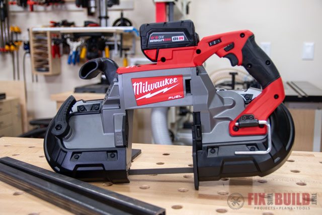 M18 FUEL 18-Volt Lithium-Ion Brushless Cordless Deep Cut Band Saw