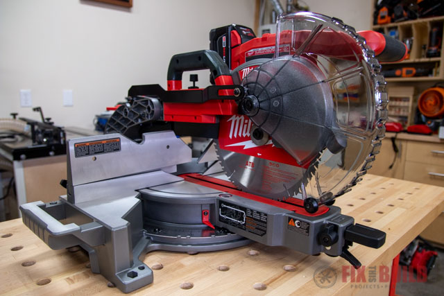 Milwaukee 10 in. Dual Bevel Sliding Compound Miter Saw