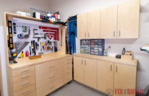 DIY Garage Cabinets Modular System Plans