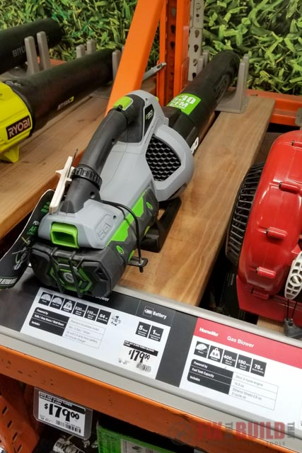 EGO Leaf Blower at Home Depot