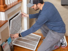 how to install air filters