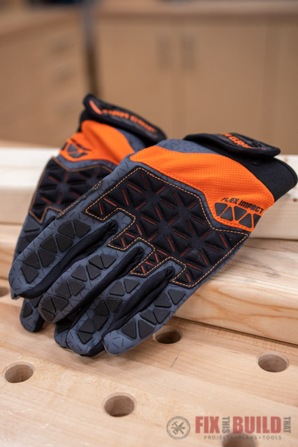 BTP Firm Grip Pro-Fit Flex Impact Glove with Touchscreen Compatibility