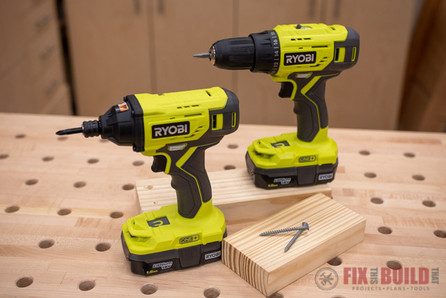 RYOBI ONE+™ Drill and Impact Driver Combo Kit