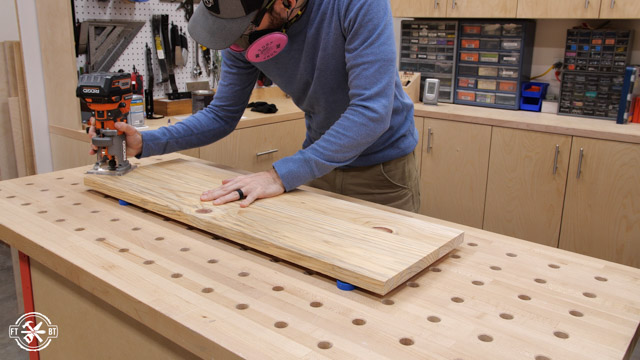 adding chamfer to wooden board