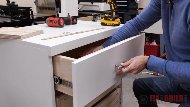 adding drawer pull