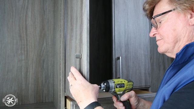 attaching cabinet doors