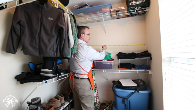 Measuring closet
