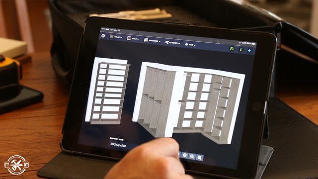 using software to design closet