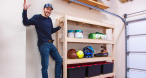 DIY Garage Shelves How to Build