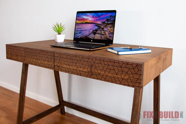modern diy desk