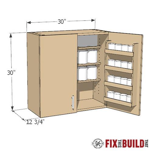 DIY Wall Cabinets