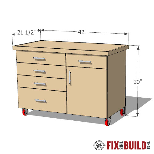 Lathe Stand Plans