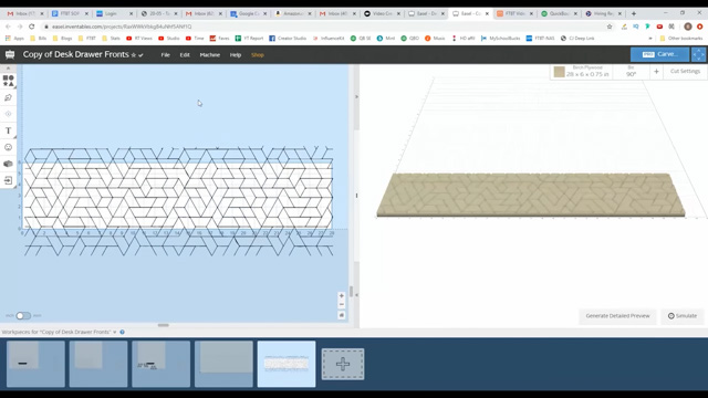 Using X-Carve to design pattern