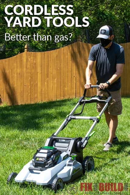 Are Cordless Yard Tools Better than Corded and Gas