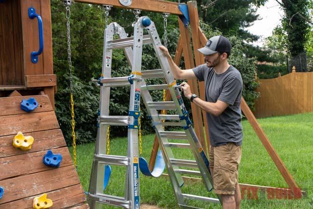 Werner 22 Foot Aluminum Ladder
