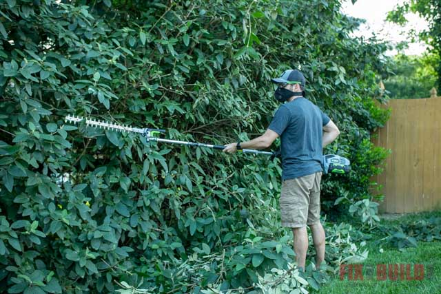EGO 56V hedge trimmer