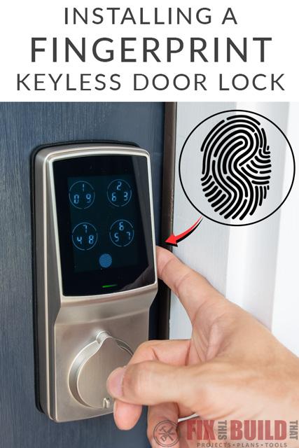 Lockly Smart Lock Fingerprint Door Lock Install