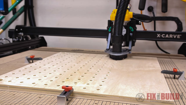 using CNC to make pegboard