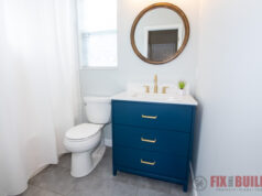 Easy Small Bathroom Remodel
