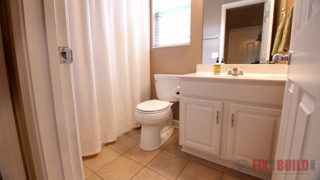 Small Bathroom Remodel Before