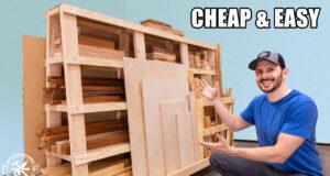 DIY Lumber Cart