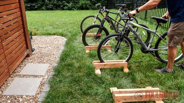 easy diy bike stand