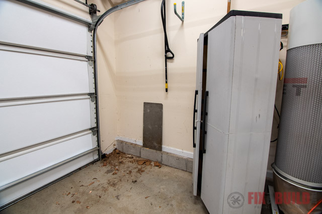 garage cabinet space