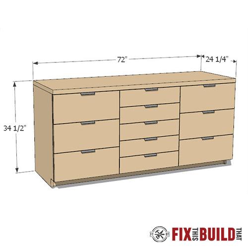 diy storage cabinets build plans