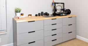 DIY Storage Cabinets for Home Office